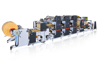 No Cylinder Change Type  Reel-to Reel Printing Line Model: FSRP series